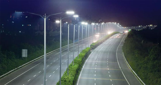 Expressway LED lighting project