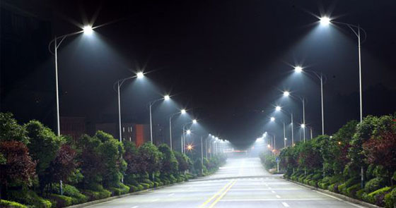 Urban Road Led Lighting Project Street Aluminum
